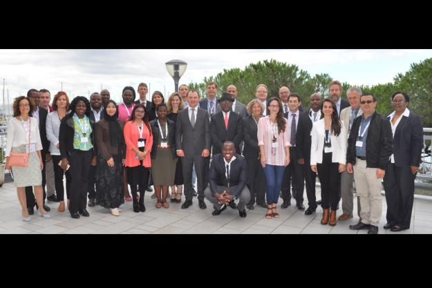Participants at a workshop on Policy and Diplomacy for Scientists in Trieste