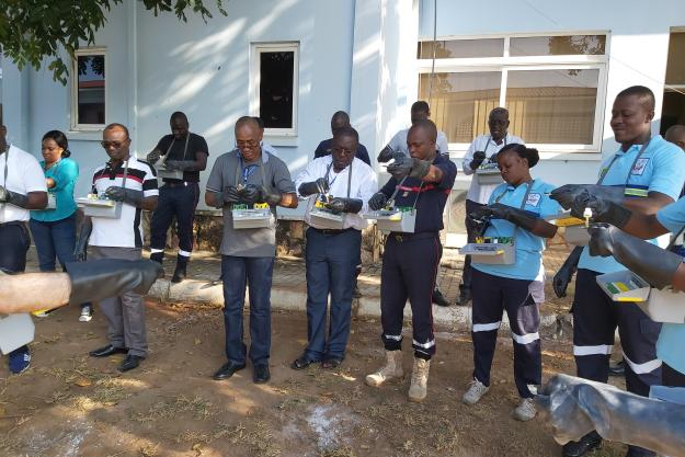 "Senior Programme Officer from the Organisation for the Prohibition of Chemical Weapons (OPCW), Mr Shahriar Khateri, emphasised that such courses strengthen the ability of OPCW Member States to offer citizens protection in case of chemical emergencies. ""We encourage all attendees to pass on their knowledge onto colleagues, and in this way augment the effect of the instruction received here,"" he stressed. During the training, the participants covered the following topics: the use of Swiss protective equipment"