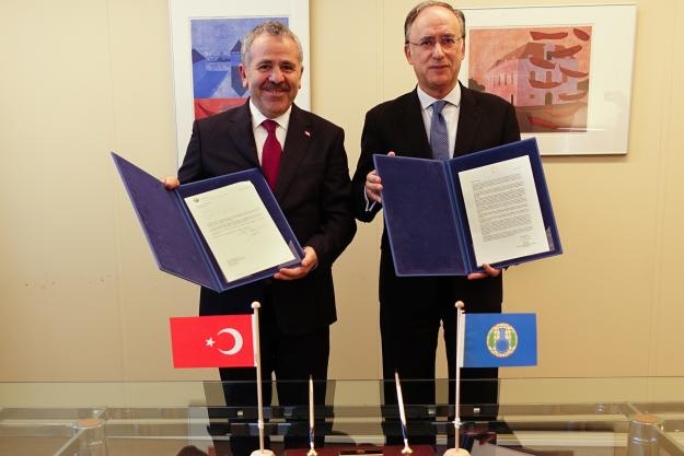 Turkey Contributes € 30,000 to Future OPCW Centre for Chemistry and Technology