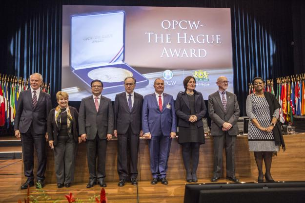 The OPCW-The Hague Award Ceremony
