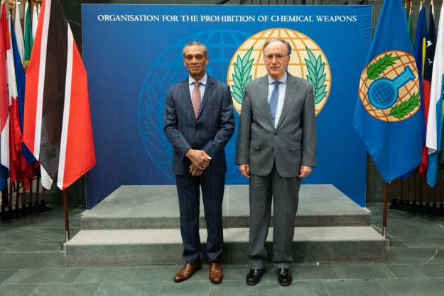 Minister of Foreign and CARICOM Affairs of the Republic of Trinidad and Tobago Visits OPCW