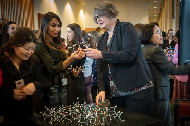 OPCW women build chemical bonds for IUPAC Global Women's Breakfast