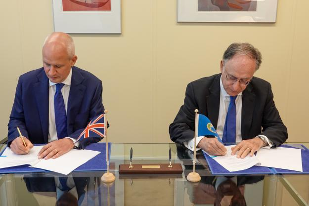 United Kingdom Contributes £800,000 to Support OPCW Activities