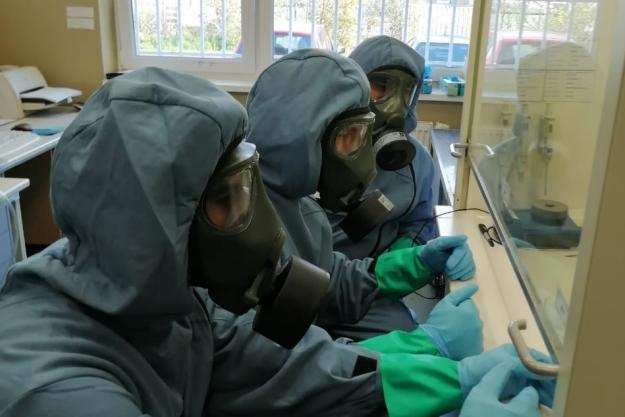 Laboratory Professionals Train with Live Chemical Warfare Agents in Slovakia