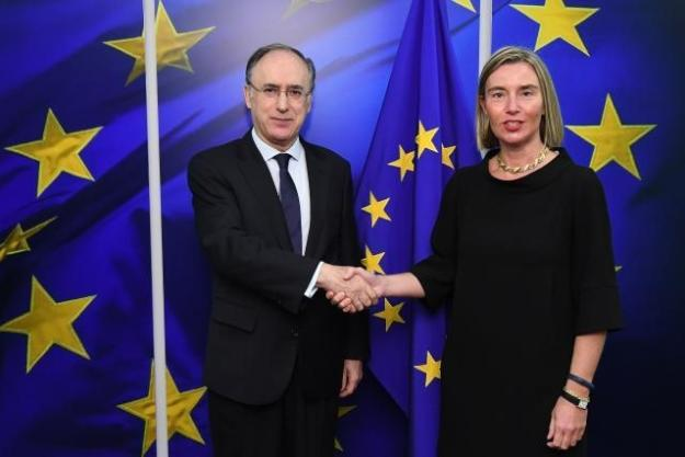 OPCW DG, Fernando Arias, meets with High Representative of the Union for Foreign Affairs and Security Policy and Vice-President of the EC, Federica Mogherini