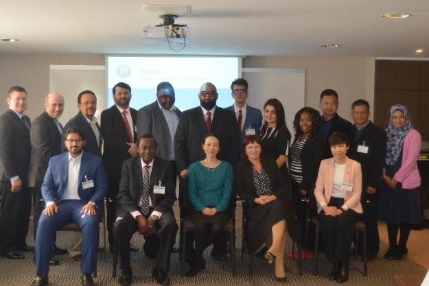 Participants in the Executive Programme on Integrated Chemicals Management