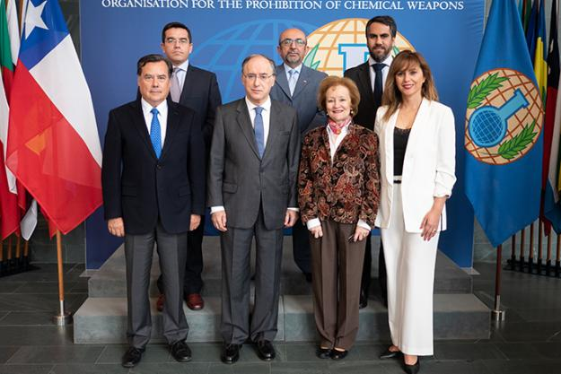 A delegation from Chile visits the OPCW
