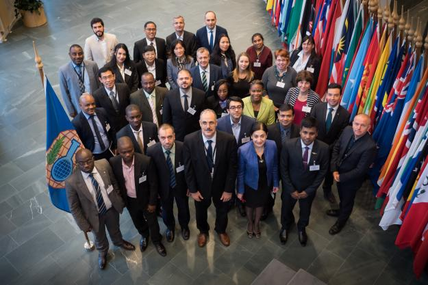 Participants at the annual meeting of the National Authorities, which was held at OPCW headquarters in The Hague from 18–22 September 2017.
