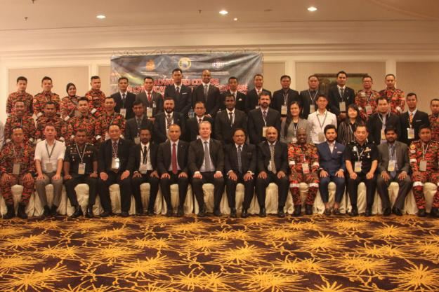 Participants during the sixth Advanced Course on Chemical Emergency Response held in Kuala Lumpur