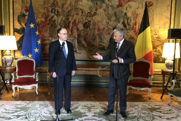 Director-General of the Organisation for the Prohibition of Chemical Weapons (OPCW), H.E. Mr Fernando Arias, met with the Deputy Prime Minister, Minister of Foreign Affairs and European Affairs, and Minister of Defence of Belgium, H.E. Mr Didier Reynders