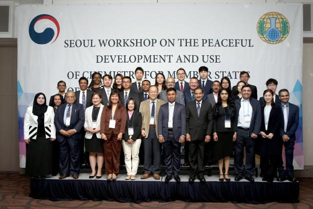Participants at the 8th Workshop on Peaceful Development and Use of Chemistry