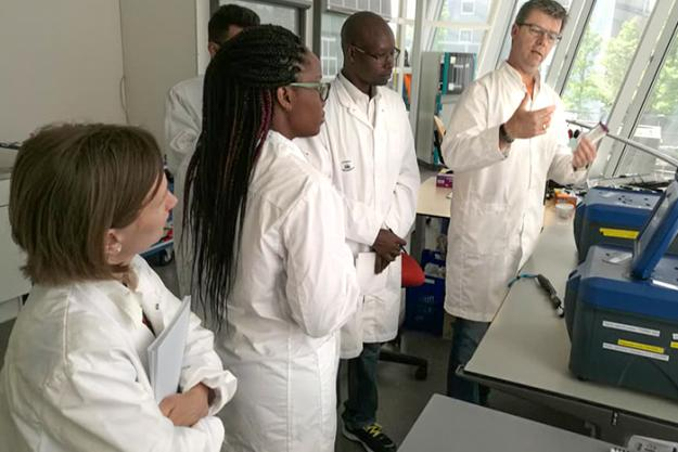 Participants at an OPCW course on analytical methods employed by customs laboratories to support national border controls of scheduled chemicals