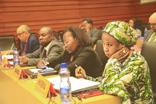 African National Authorities discuss the design of a new phase of the Organisation's Africa Programme, at 17th Regional Meeting