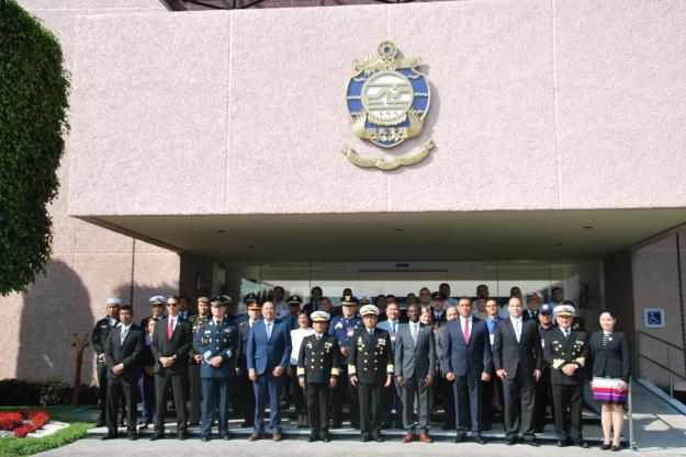 Thirteen OPCW Member States were represented at the Training Course.