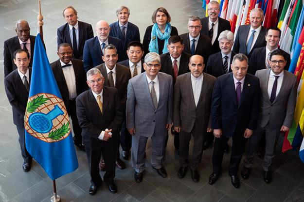 The Members of OPCW's Confidentiality Commission 7 May 2018.