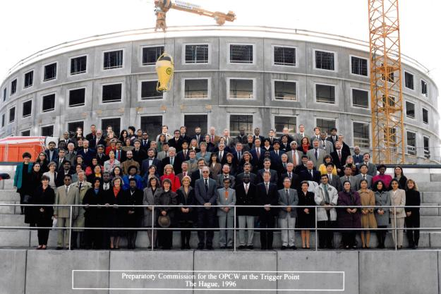 The Preparatory Commission of the OPCW at the Trigger Point, 1996