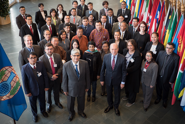 Participants at the Stakeholders Forum for States Parties in Asia on the Adoption of National Implementing Legislation of the Chemical Weapons Convention (CWC)