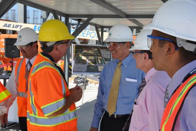 DG visited the chemical weapons storage depot and destruction facility in Blue Grass, Kentucky