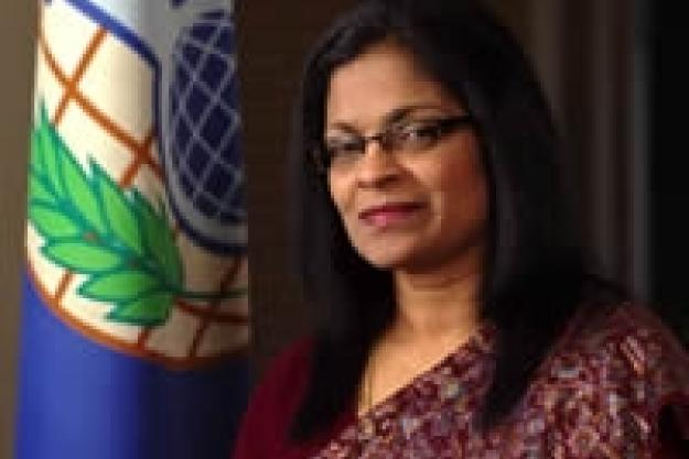 OPCW Deputy Director-General Mrs. Grace Asirwatham