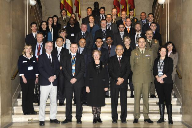Participants and OPCW staff at the first OPCW workshop on Schedule 1 facilities.