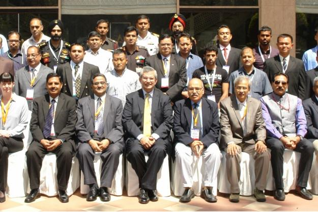 Participants at the Regional Assistance and Protection Course, which was held in India from 25 - 29 August 2014.