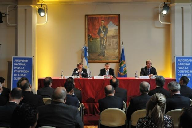 Commemoration of the Centenary of the First Large-Scale Use of Chemical Weapons held in Argentina.