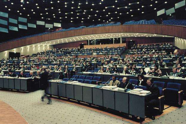 Twentieth Session of the Conference of the States Parties to the Chemical Weapons Convention at the World Forum in The Hague, Netherlands.