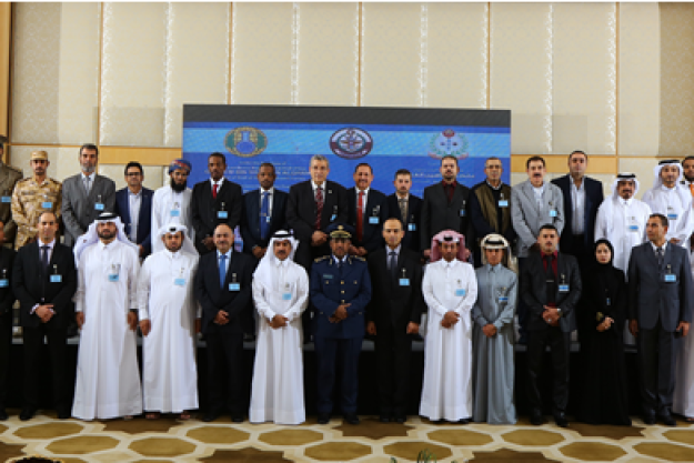 Participants at the The Advanced and Exercise training course on Assistance and Protection against Chemical Weapons for Arabic speaking States Parties, which was held in Doha, Qatar from 21 to 24 December 2015.