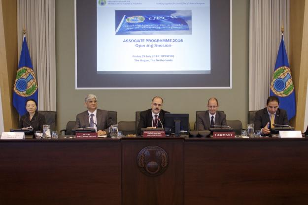 Opening Session of the 17th edition of the OPCW Associate Programme