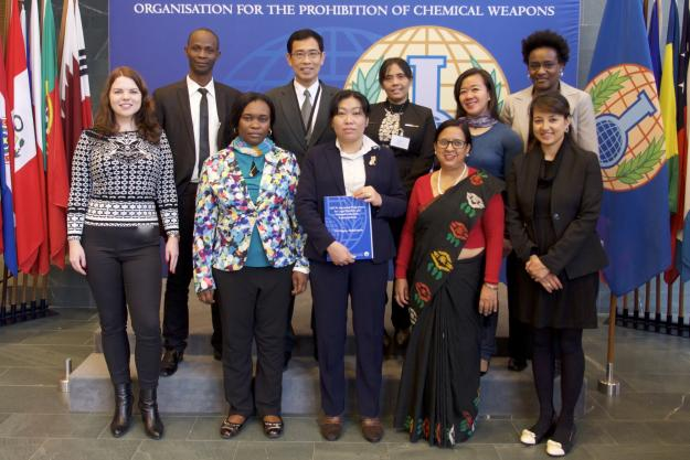 Participants at the Sixteenth Session of the Internship Programme for Legal Drafters and National Authority Representatives in The Hague.