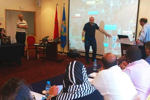 Participants during the third regional training course on Assistance and Protection against Chemical Weapons in Morocco
