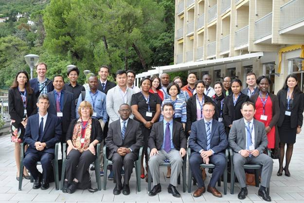 Participants from Policy and Diplomacy for Scientists workshop that was held in Trieste, Italy from 12-15 September 2017