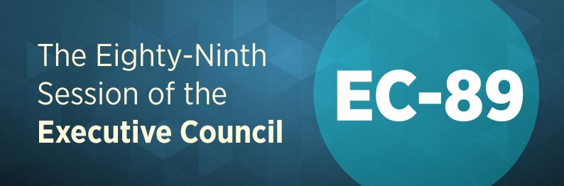 The Eighty-Ninth Session of the Executive Council