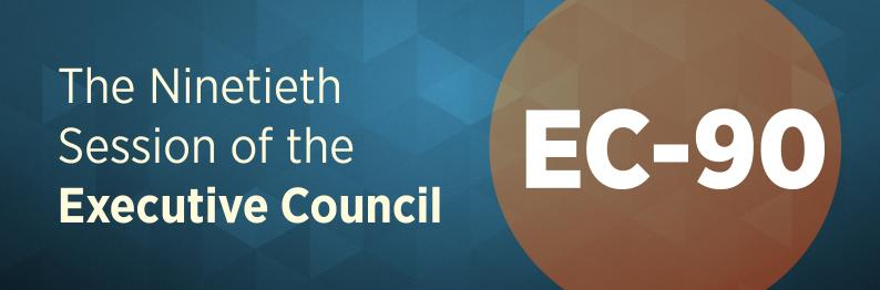 EC-90 – The Ninetieth Session of the Executive Council