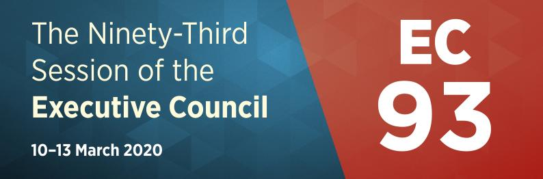 EC-93 – The 93rd Session of the Executive Council