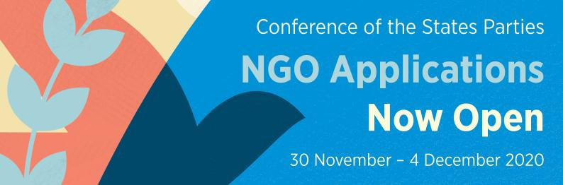 CSP-25 – NGO Applications Now Open