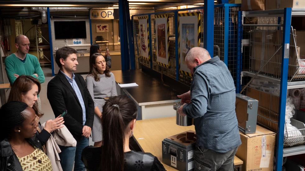 Tour of OPCW Equipment Store