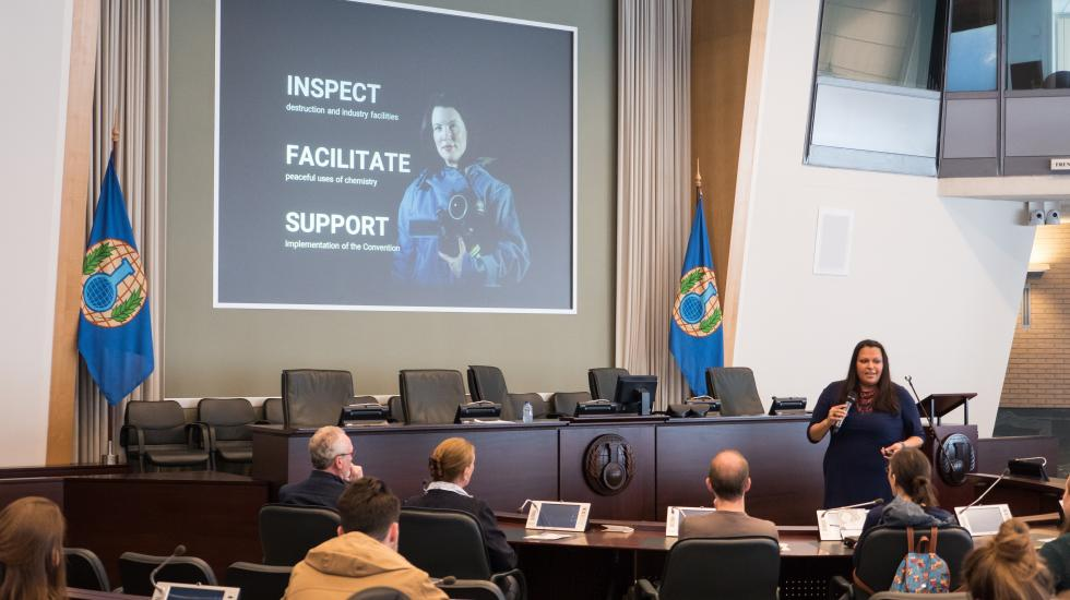 Expert presentation on the work of the OPCW