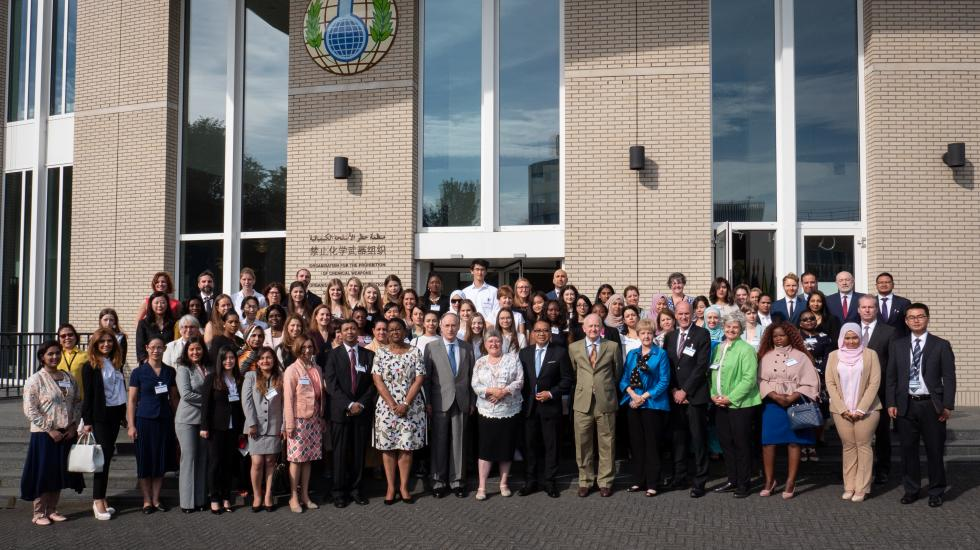 Participants at OPCWs 4th Annual Women in Chemistry Symposium