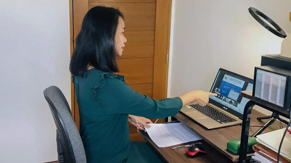 Participant at online Peaceful Uses of Chemistry Forum