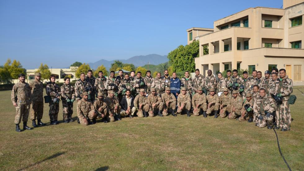 Participants at the 8th International Advanced Course on Assistance and Protection against Chemical Weapons
