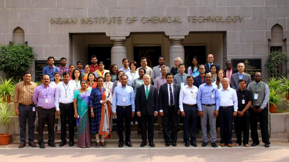 Participants at the Analytical Chemistry Course in Hyderabad