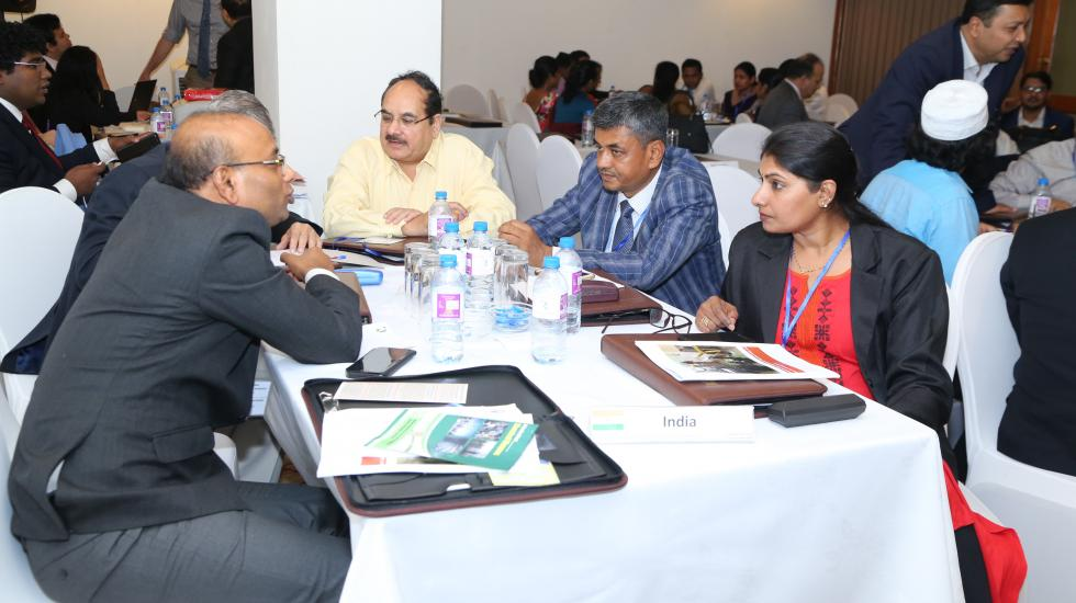 Participants at the South Asia regional workshop in Colombo, Sri Lanka