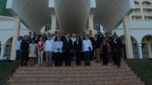 Participants at the 1st Course in Latin America and Caribbean on Medical Aspects of Assistance and Protection against Chemical Weapons, which was held in Cuba in October 2014.