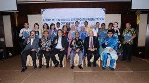 Participants at the 3rd natural products chemistry training and development programme held in Malaysia