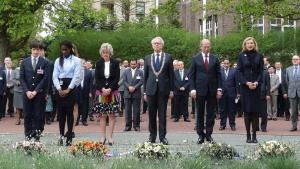 Minute of Silence during the annual Day of Remembrance for all Victims of Chemical Warfare.