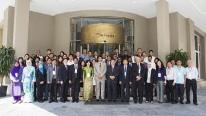 Participants at a Chemical Safety and Security Management Seminar held in Hanoi.