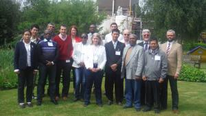 Participants at a workshop on Training Inspection Escorts for representatives from Angola and Myanmar.
