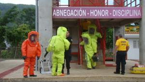 Participants at an Advanced Course on Chemical Emergency Response in Costa Rica