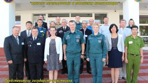 Participants at a Train the Trainer's course for Russian-speaking instructors, which was held in Svetlaya Rotcha, Belarus, from 24 to 28 August 2015.
